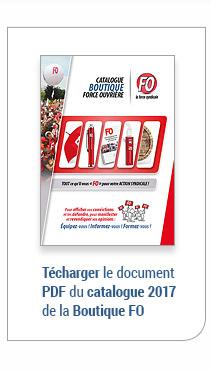 Telecharger le PDF du catalogue Force Ouvrière 2015